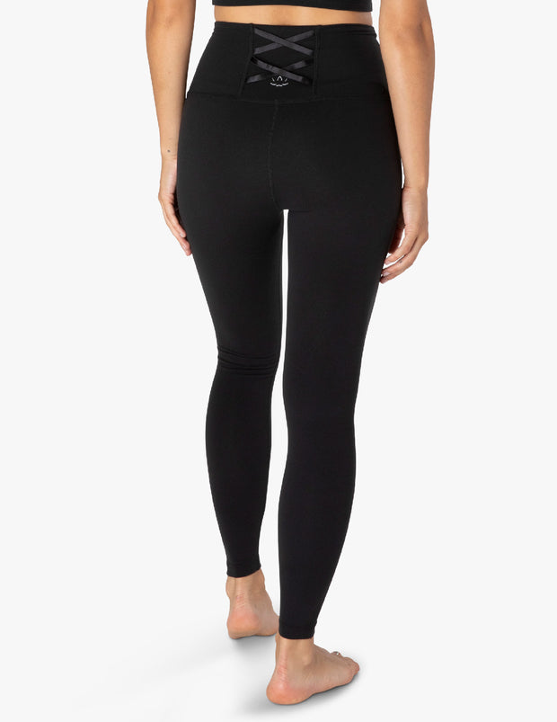 Supplex On The Strap High Waisted Midi Legging