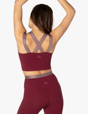 Cross Point Cropped Tank