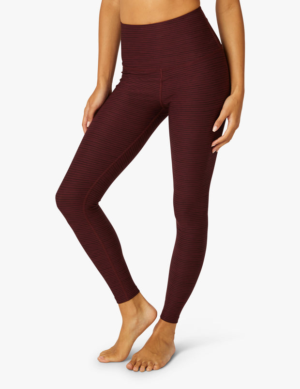Surf Stripe High Waisted Midi Legging