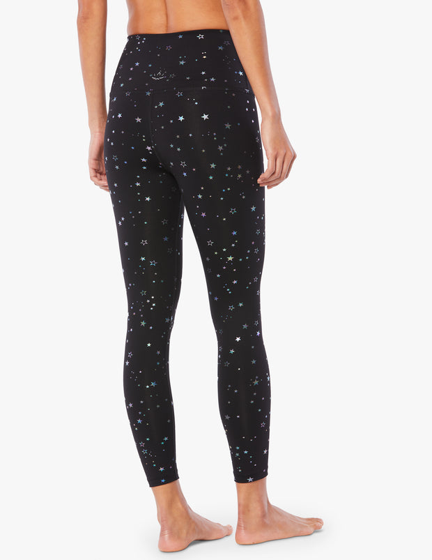 Tossed Star High Waisted Midi Legging