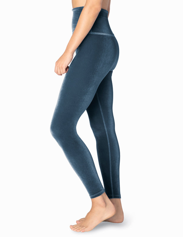 Velvet Motion High Waisted Midi Legging