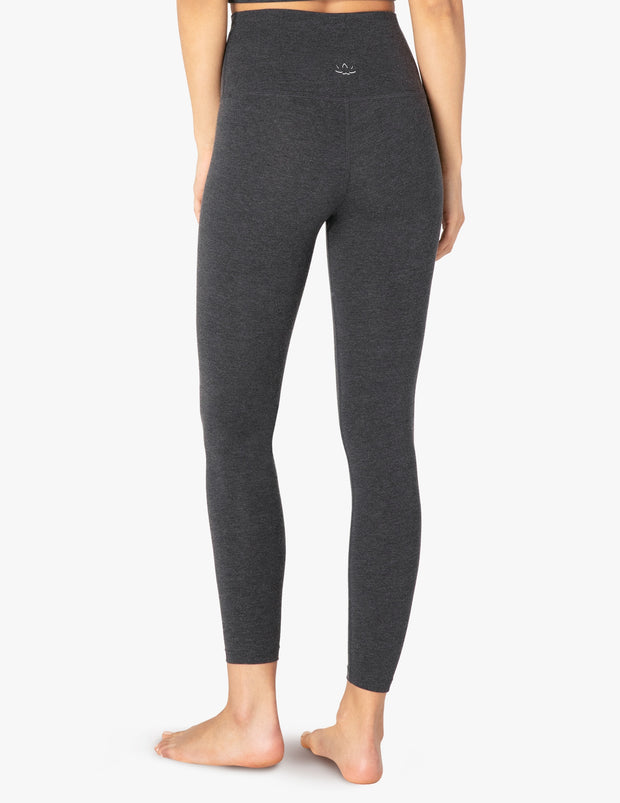 Sanded High Waisted Midi Legging