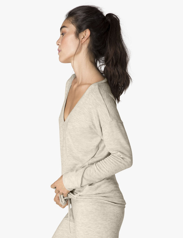 Lounge Around Hacci Pullover