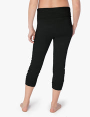 Cozy Fleece™ Fold Over Maternity Sweatpants