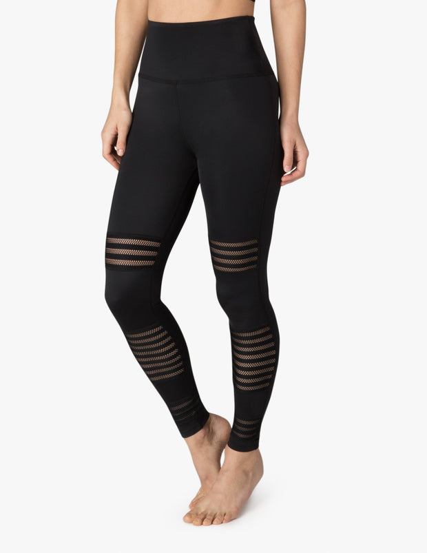 Plus Mesh To Impress High Waisted Midi Legging