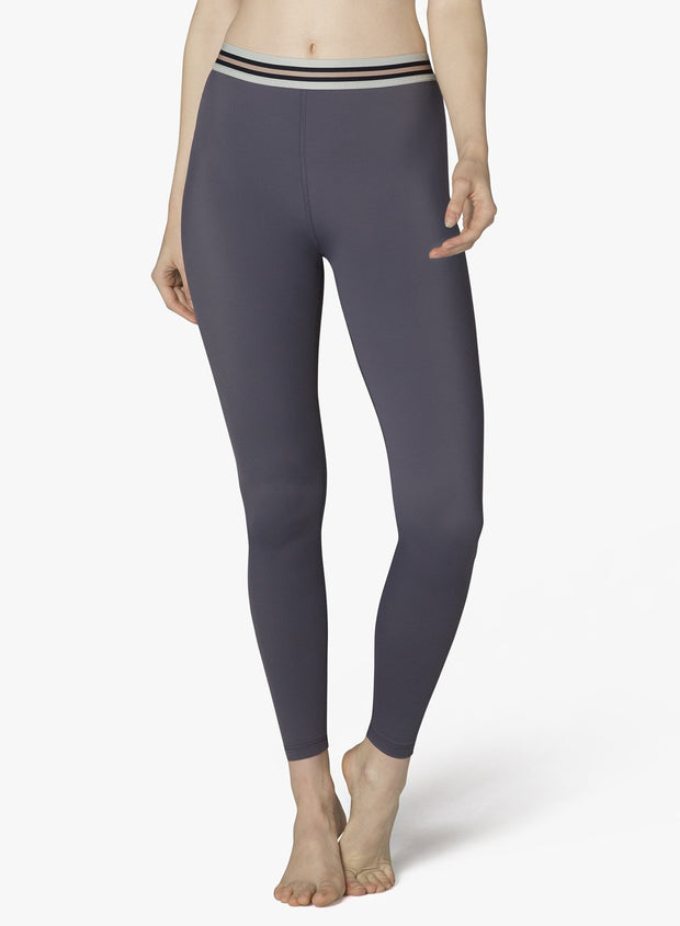 Compression One More Stripe High Waisted Long Legging