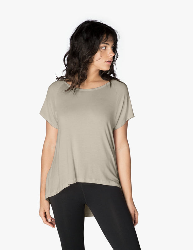 Slink Out Loud High Low Tee