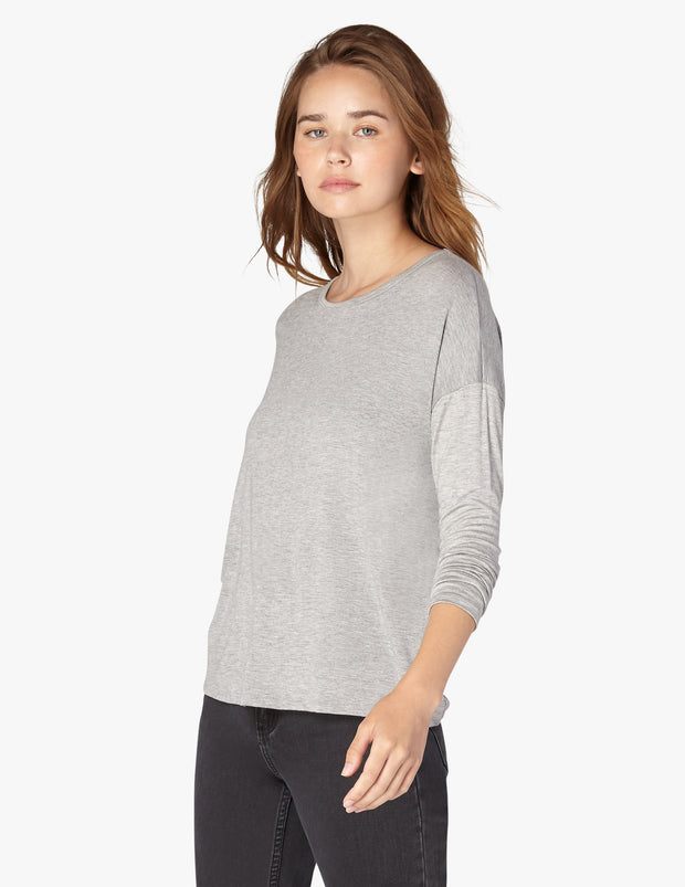 Draw The Line Tie Back Pullover