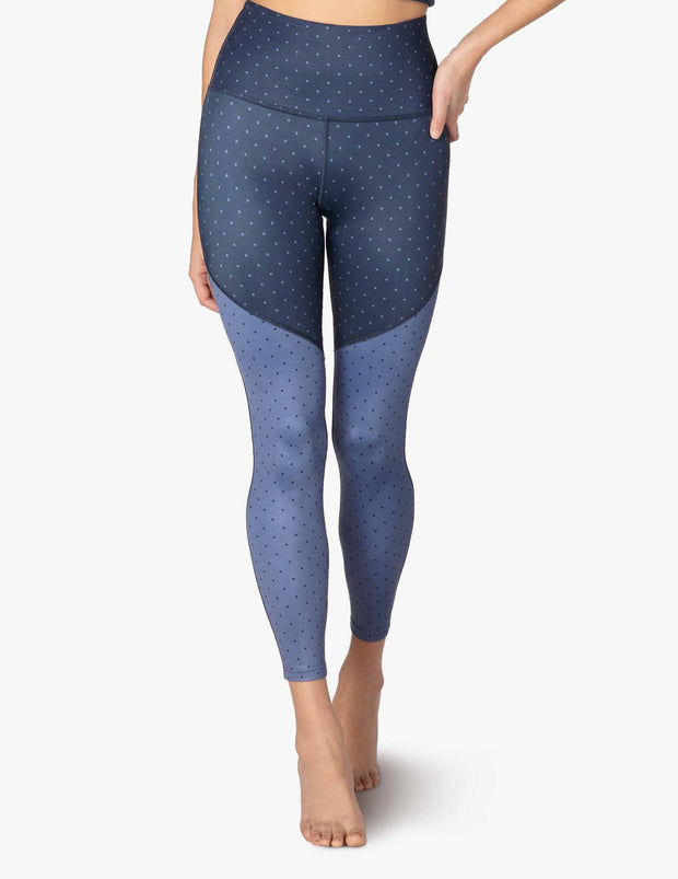 Lux High Waisted Angled Midi Legging