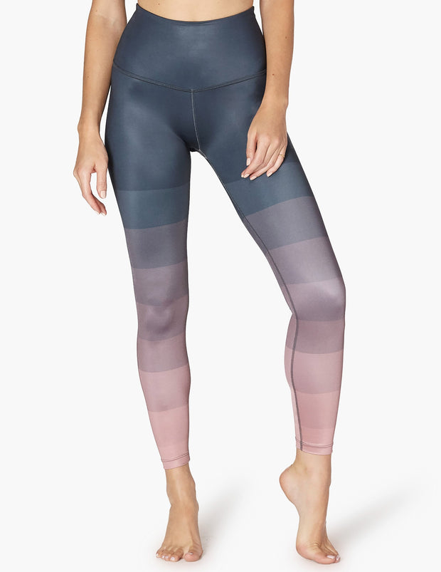 Engineered Lux High Waisted Midi Legging