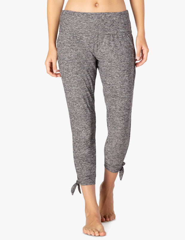 Keep It Lightweight And Easy Foldover Midi Sweatpant