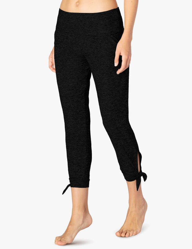 Keep It Featherweight And Easy Foldover Midi Sweatpant