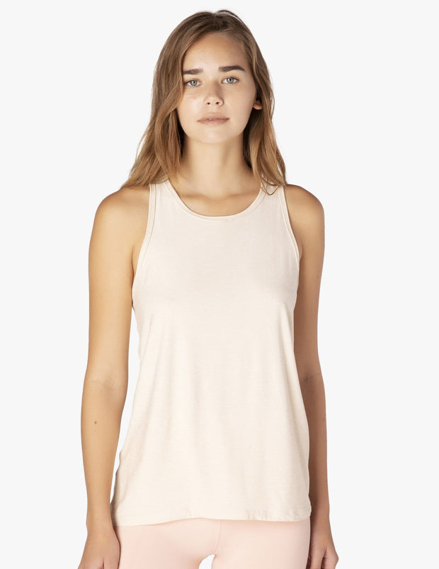 Featherweight Crossed Back Tank