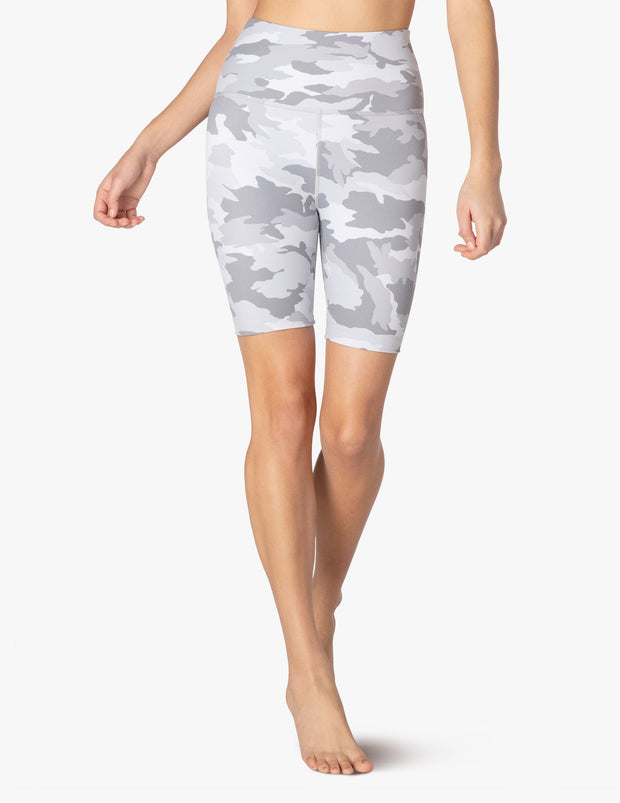 Olympus Camo High Waisted Biker Short