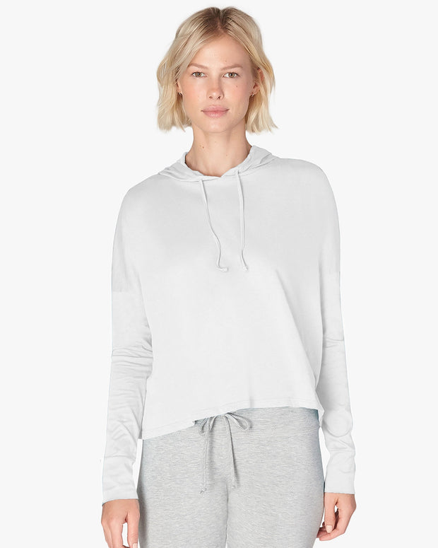 Beach Worn Cropped Pullover