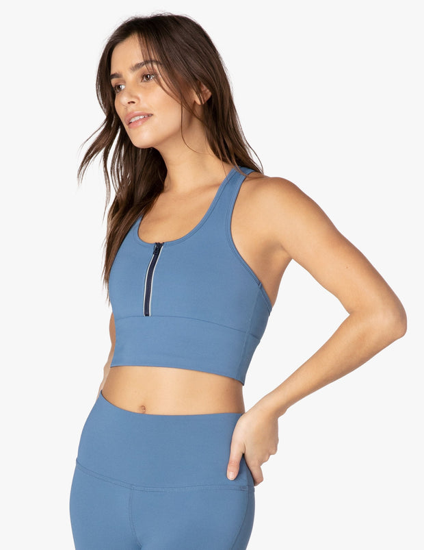 Zip By Boulevard Cropped Tank