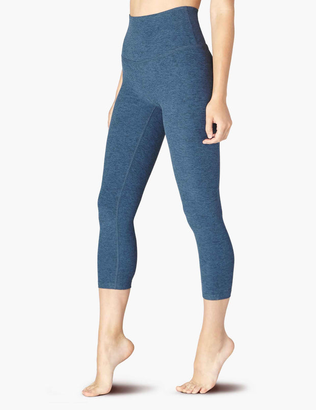 Spacedye Walk and Talk High Waisted Capri Legging