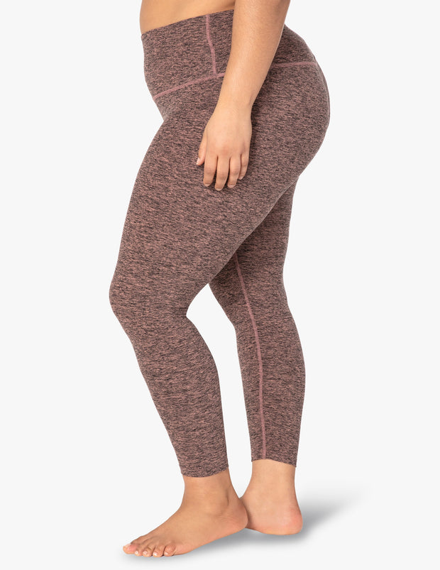 Spacedye Caught In The Midi High Waisted Legging (1X-4X)