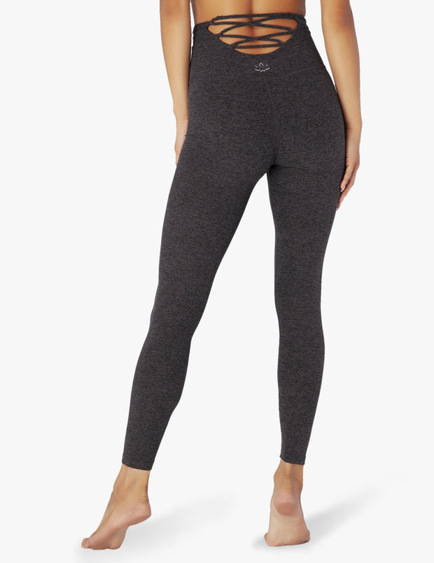 Across The Strap High Waisted Midi Legging