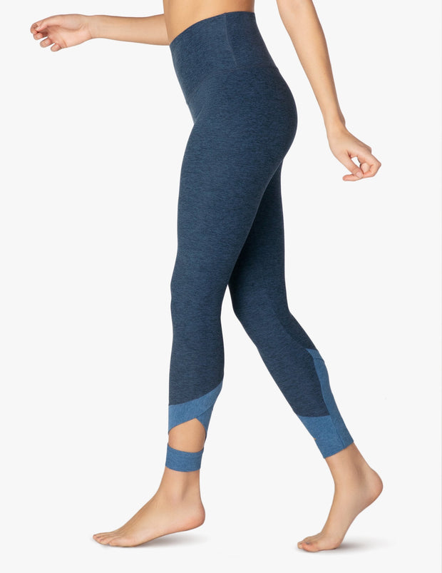 Spacedye Set The Bar High Waisted Midi Legging