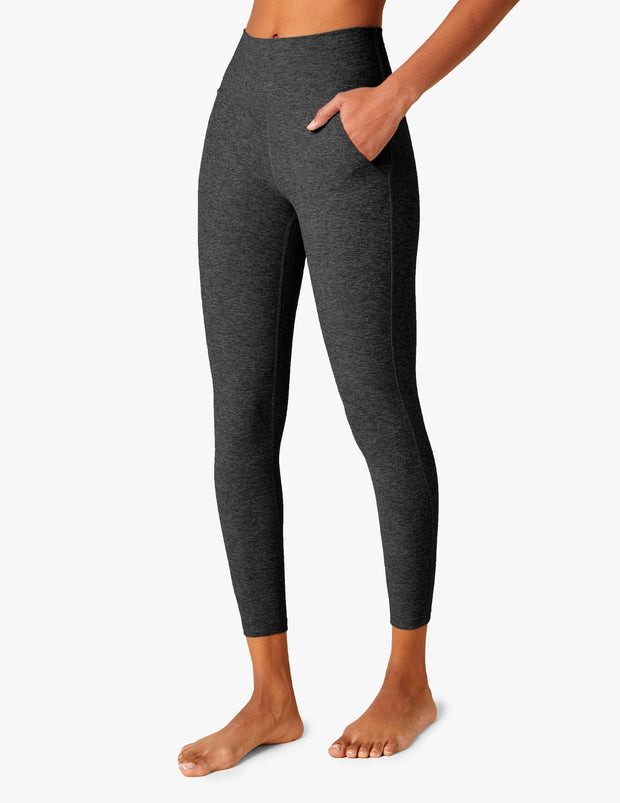 Patch Pocket High Waisted Midi Legging
