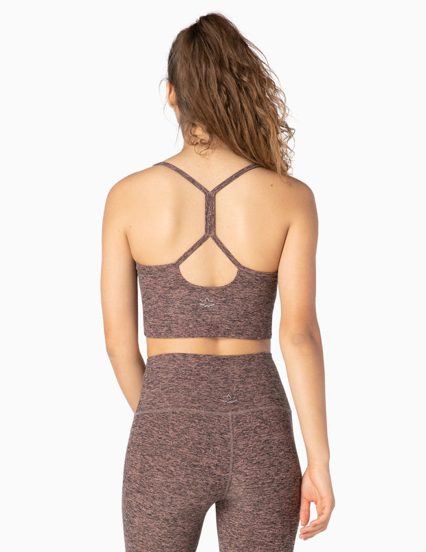 Spacedye Slim Racerback Cropped Tank
