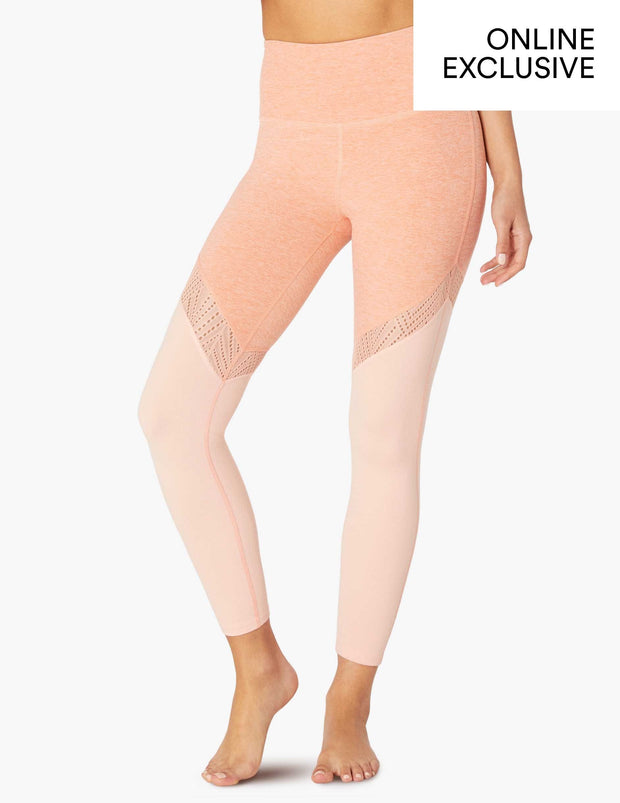 Tri-Panel High Waisted Midi Legging