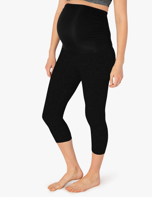 Hug The Belly Capri Legging