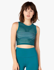 Sportflex Top Notch Cropped Tank