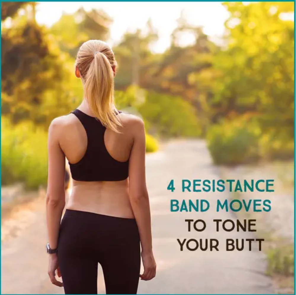 4 Resistance Band Moves To Tone Your Butt