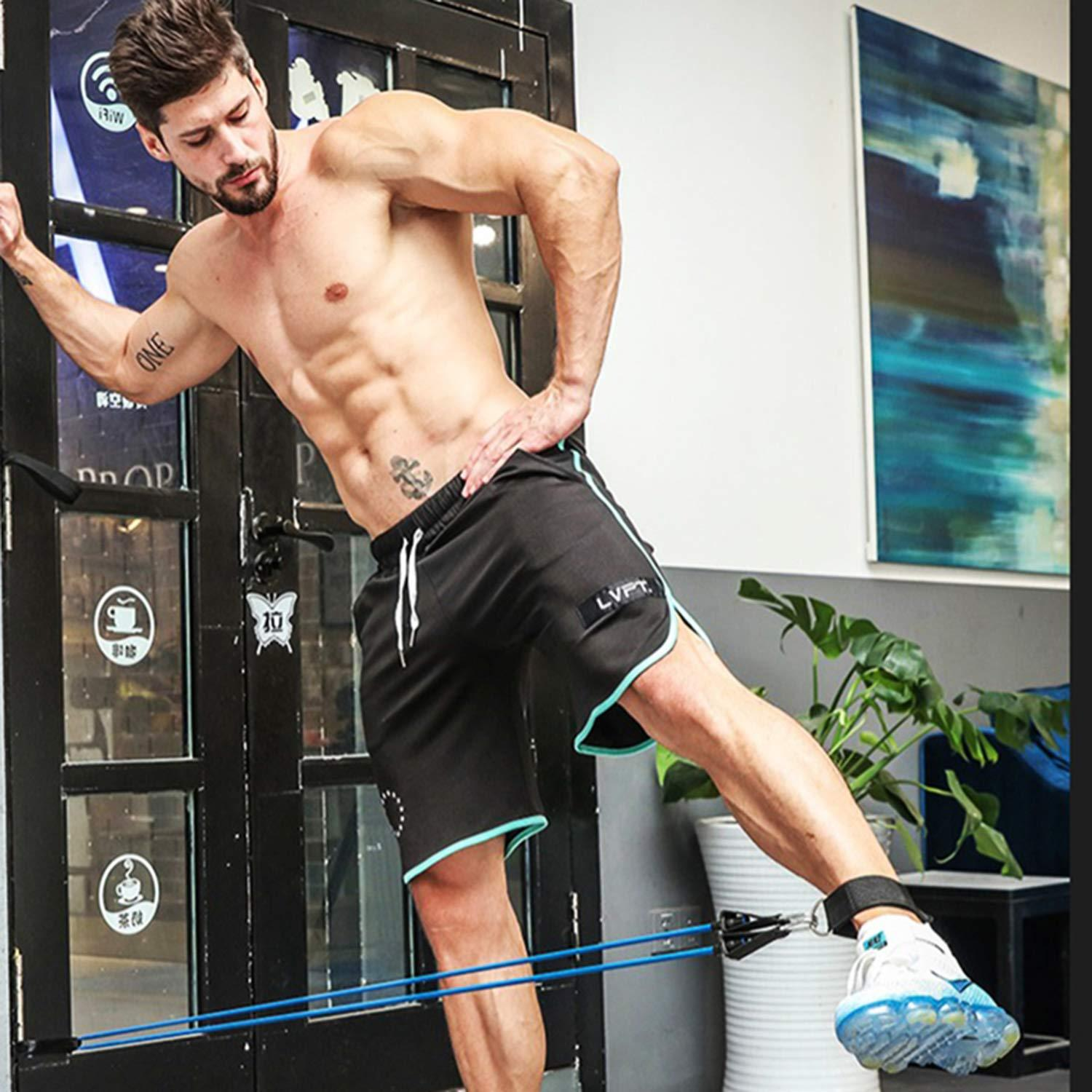 Legs and Core Resistance Band Workout | OZ FITNESS ONLINE