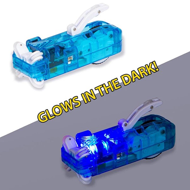 Anti-Newton Method Tube Rail Car - Glow In The Bark,