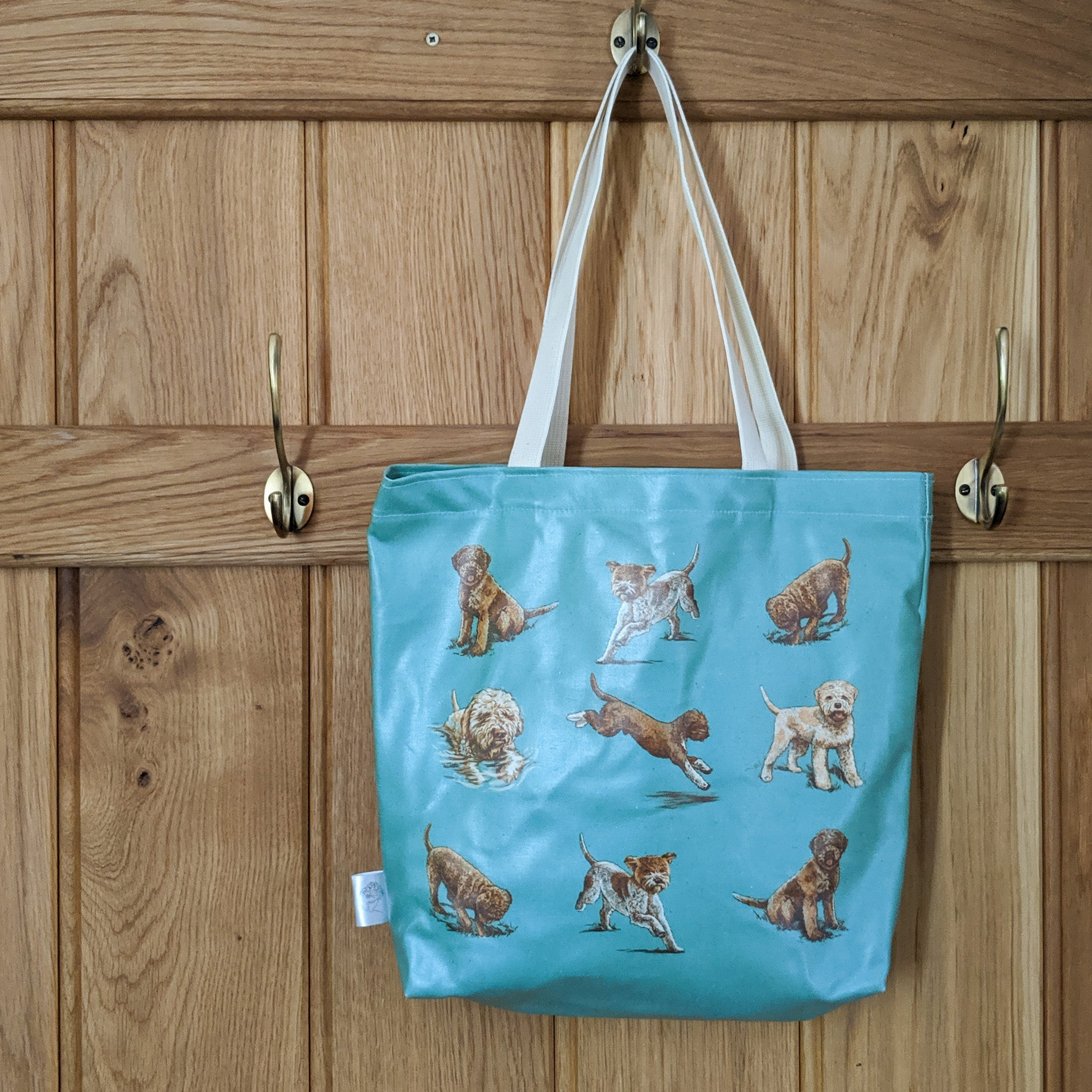 Oilcloth Lagotto Tote Bag