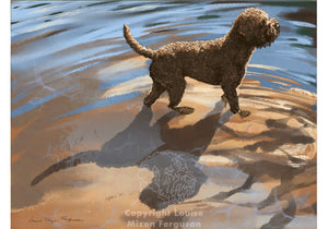 Lake Dog - Limited Edition Print