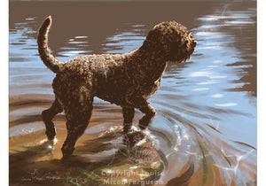 Water Dog - Limited Edition Print