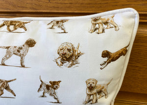 Pure Cotton Lagotto Cushion Cover