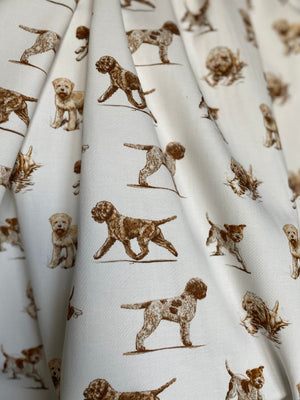 Lagotto Romagnolo Fabric by the metre