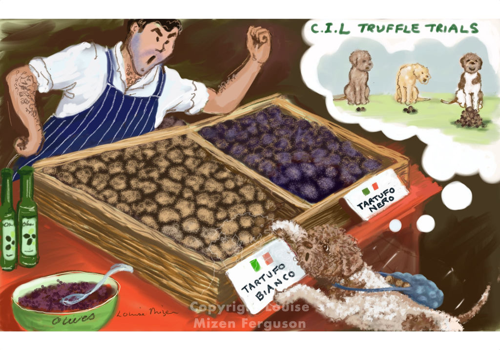 The Truffle Thief - Limited Edition Print