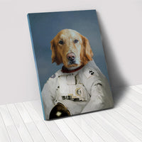 The Astronaut - Custom Pet Portrait Canvas
