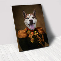 The Duke - Custom Pet Portrait Canvas