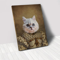 The Princess - Custom Pet Portrait Canvas