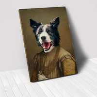 The Noble - Custom Pet Portrait Canvas