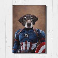 Woofmerica - Custom Pet Portrait Canvas
