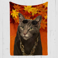 Fall In Love Custom Pet Blanket