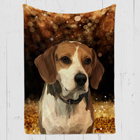 Holiday Exclusive Custom Pet Blanket (Limited Edition)