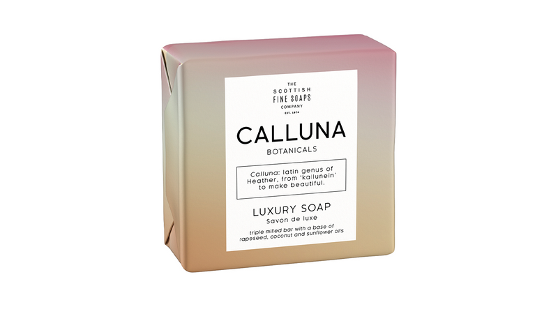 Scottish Fine Soaps Calluna Botanicals Luxury Soap 100g