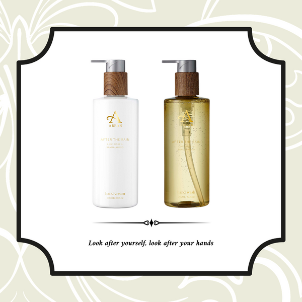 Bundle Offer: Arran After the Rain Hand Wash and After the Rain Hand Cream