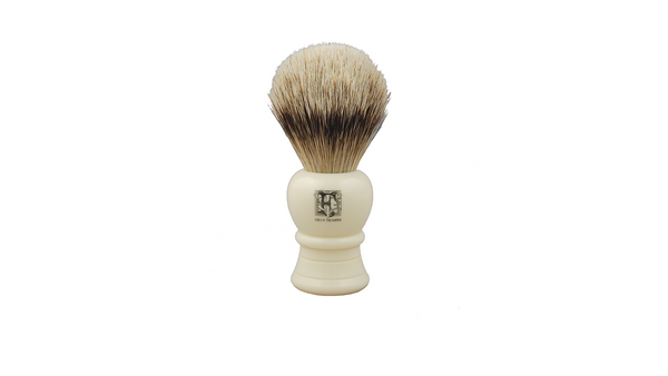 Geo F Trumper Super Badger Shaving Brushes