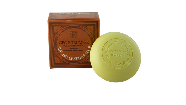 Geo F Trumper Spanish Leather Bath Soap 150g