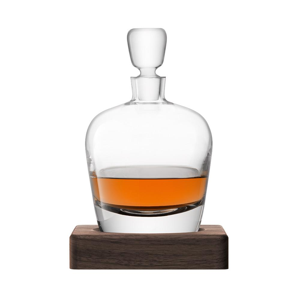 Arran Whiskey Decanter includes Walnut Coaster 25cm 1L - WineStuff.net - WineStuff.net - GC C4-11001